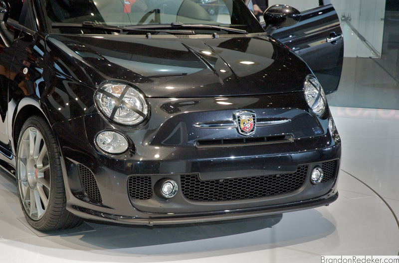 NAIAS 2010: Fiat 500