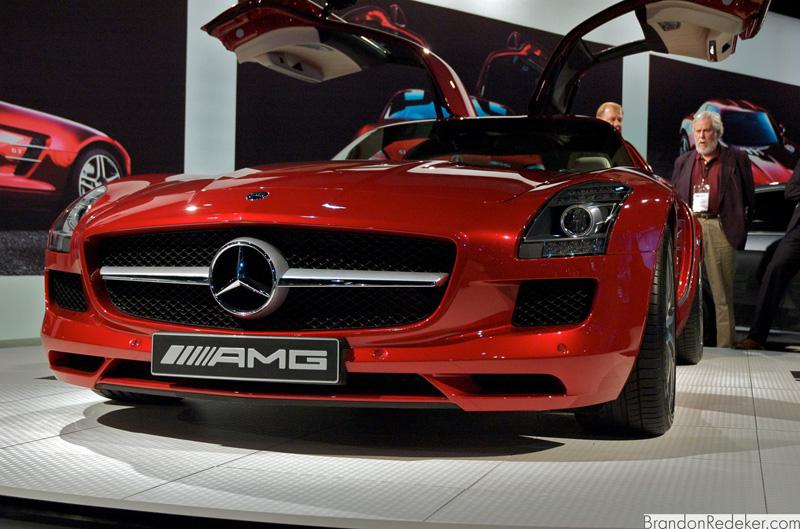 LA Auto Show 2009: AMG SLS