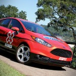The 2014 Ford Fiesta ST is the official pace car of the X Games GRC RallyCross