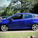 2014 Fiesta ST along the falls in Brazil